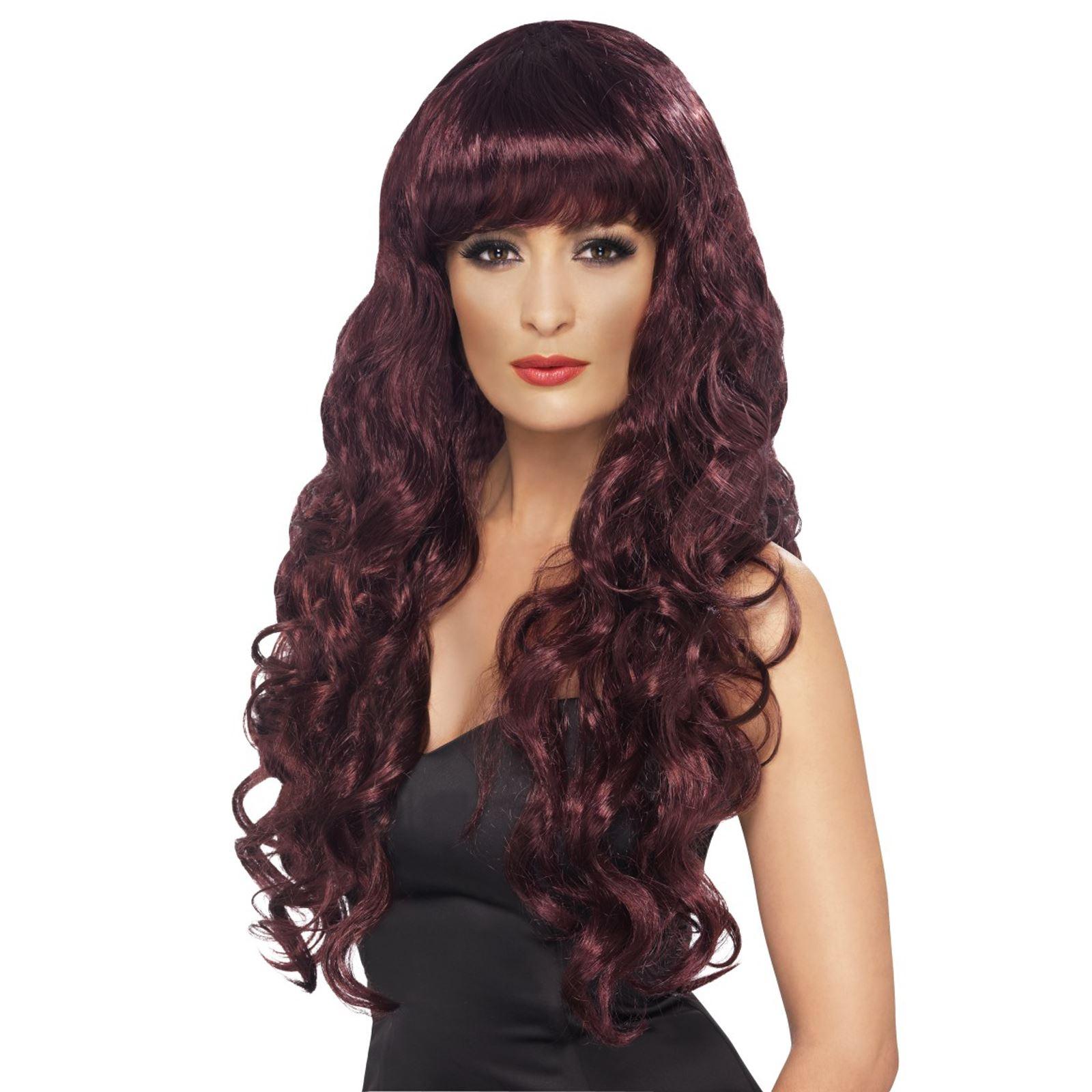 Adult-Ladies-Long-Wavy-Siren-Mermaid-Wig-Lagoon-Monster-Fancy-Dress-Accessory