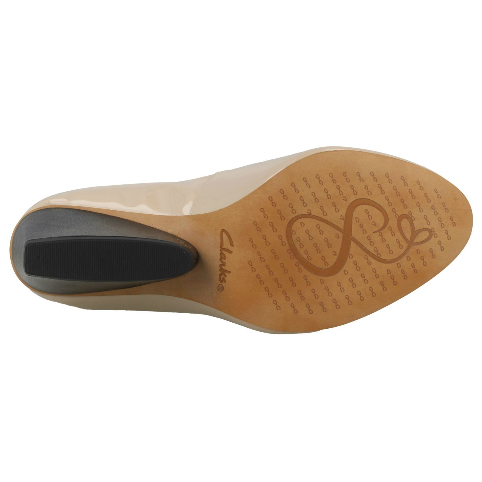 Damen 'Demerara Clarks Smart Keilabsatz Schuhe 'Demerara Damen Spice' 691f4e