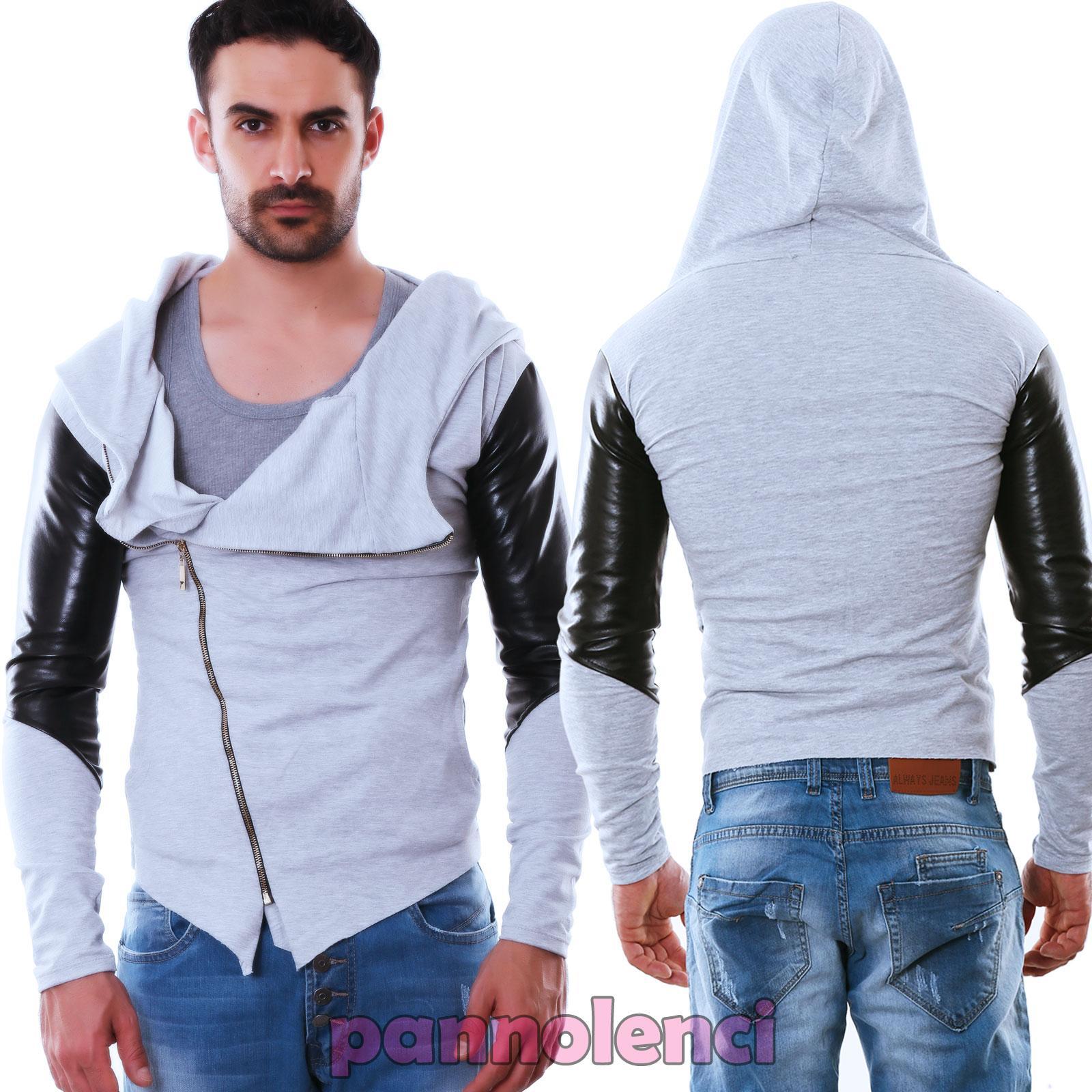 sweat-hommes-veste-sweat-shirt-inserts-cuir-ecologique-a-capuche-veste