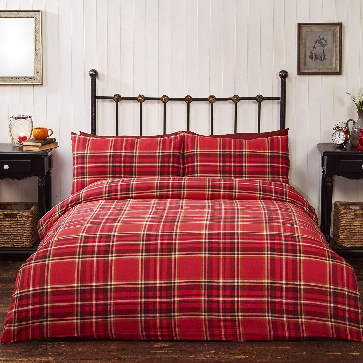 weihnachten festliche bettbezug sets bettw sche erwachsene einzeln doppel ebay. Black Bedroom Furniture Sets. Home Design Ideas