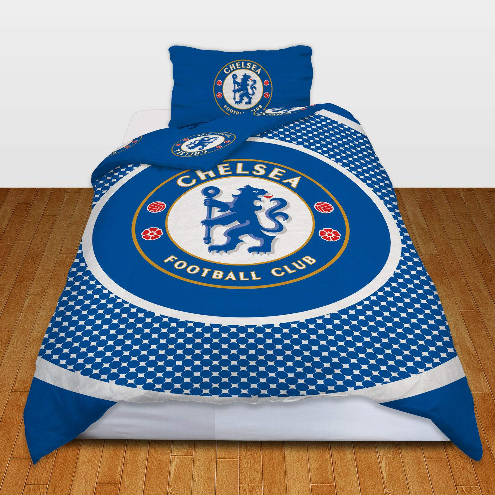 OFFICIAL CHELSEA FOOTBALL DUVET COVER SETS BOYS BEDROOM