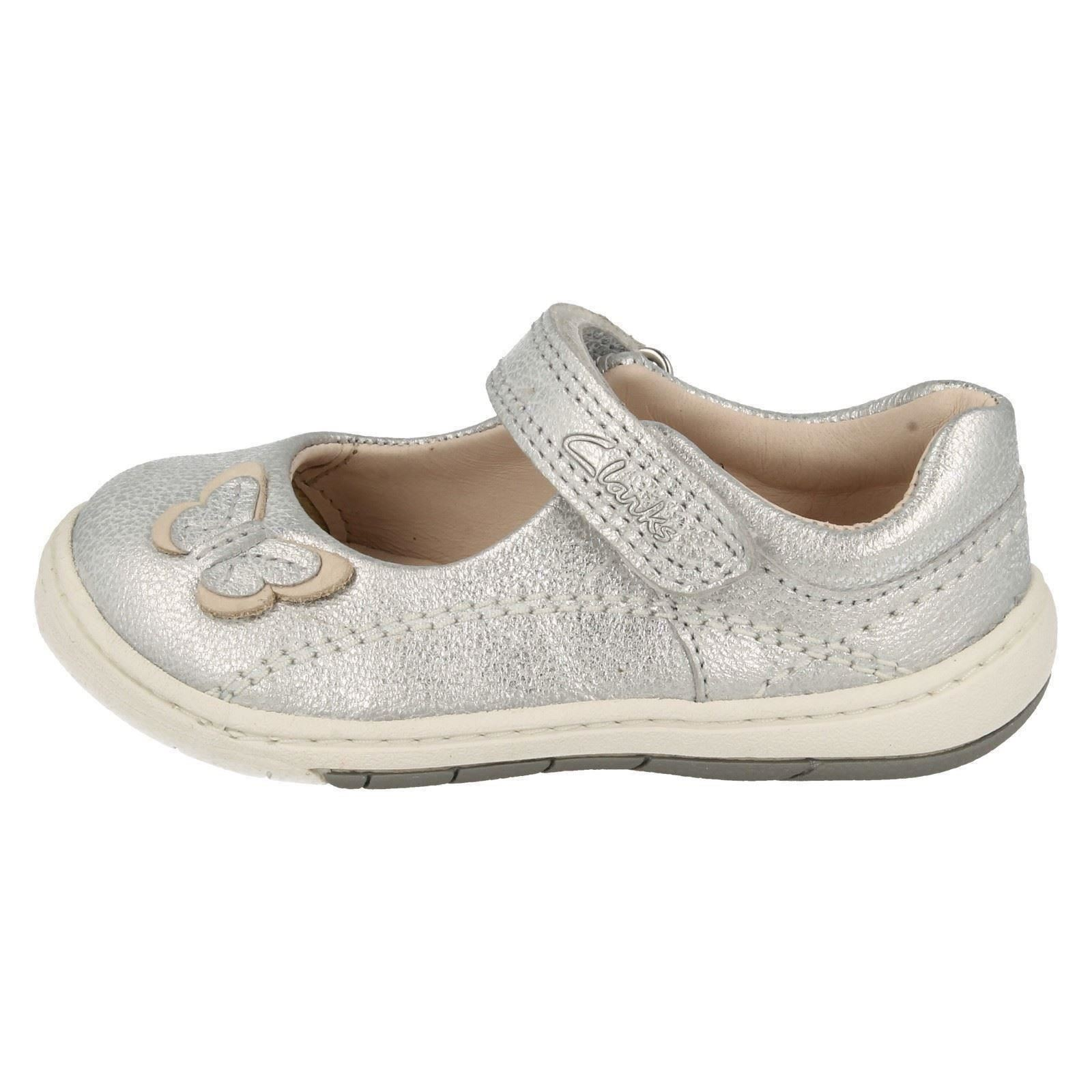 Para Clarks Softly Niña Jane Zapatos First Wow Mary ArCAqax5w