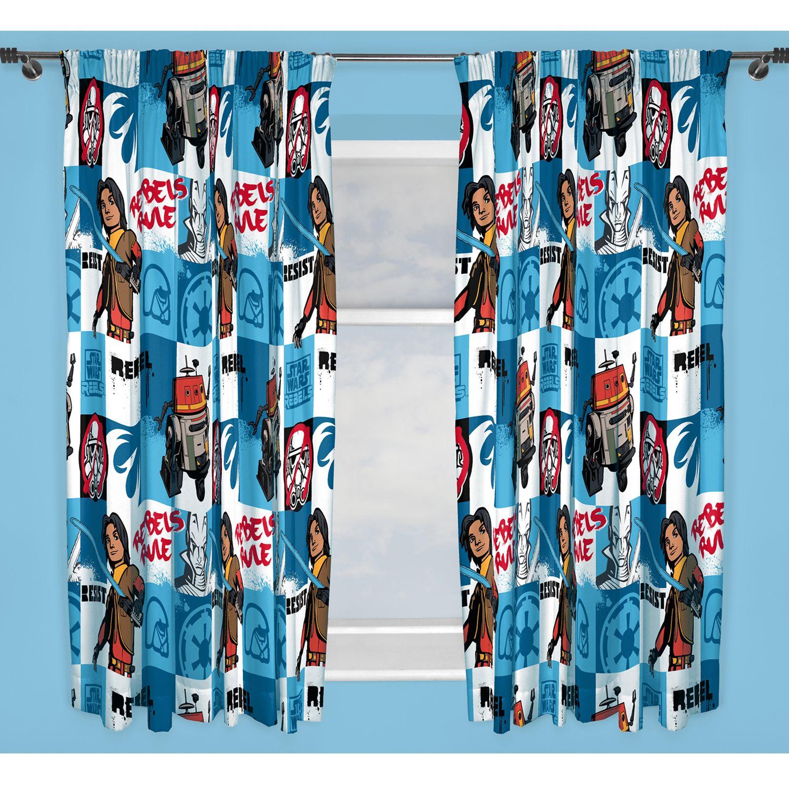 star wars rebels episode 7 vorh nge erh ltlich in 137cm. Black Bedroom Furniture Sets. Home Design Ideas