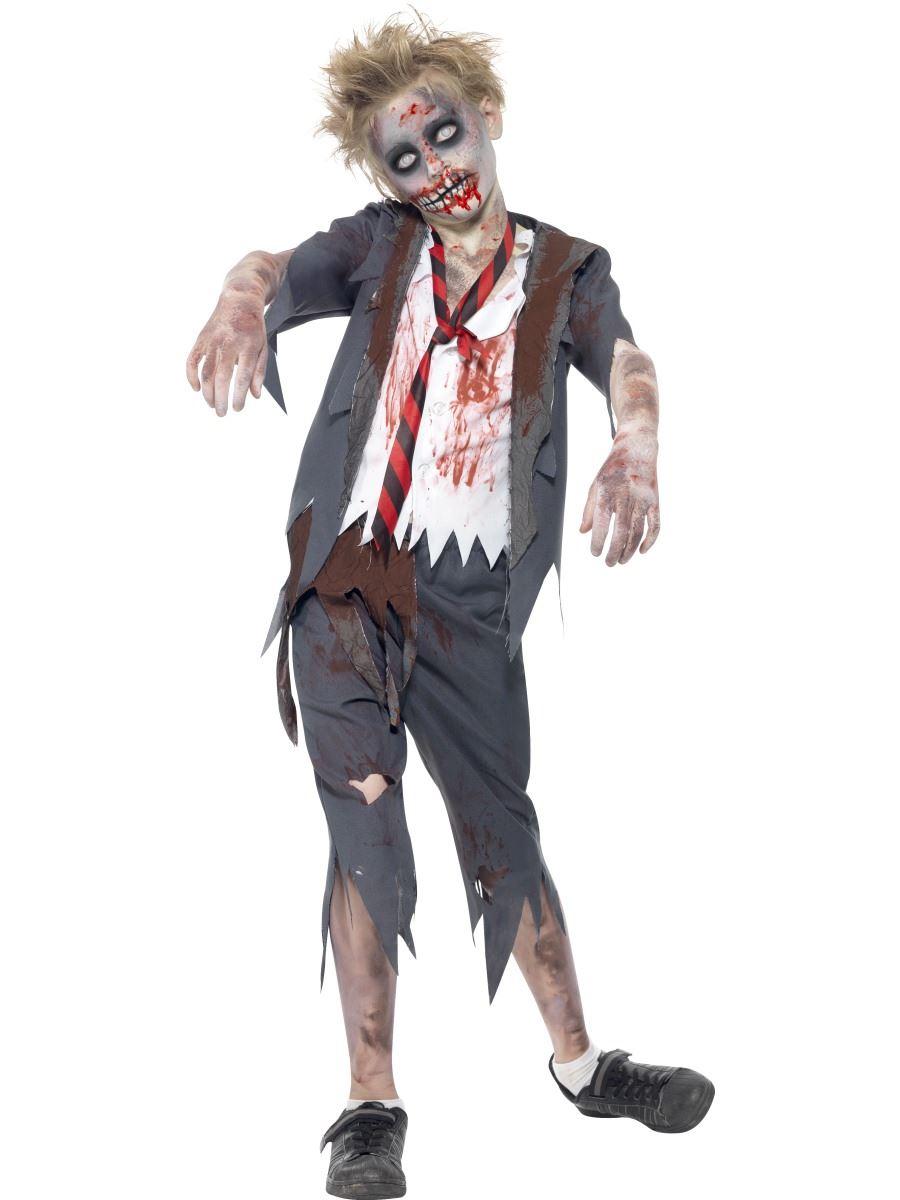 Zombie-Escuela-Nino-Disfraz-Ninos-Disfraz-Halloween-Terror-Infantil-Disfraz