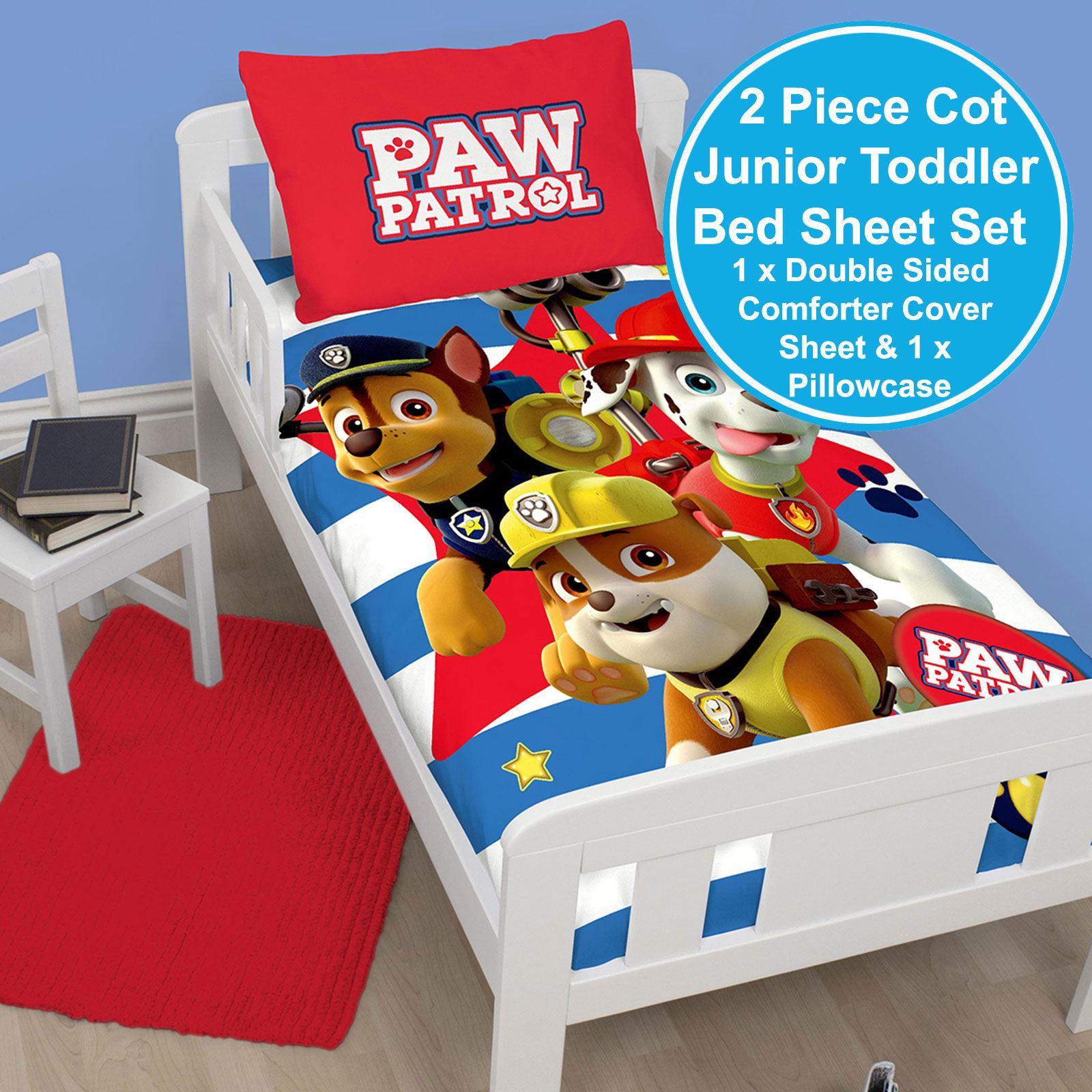 Paw-Patrol-Oficial-Funda-de-Edredon-Sets-Ropa-Cama-Infantil-Menor-Simple-Doble miniatura 59
