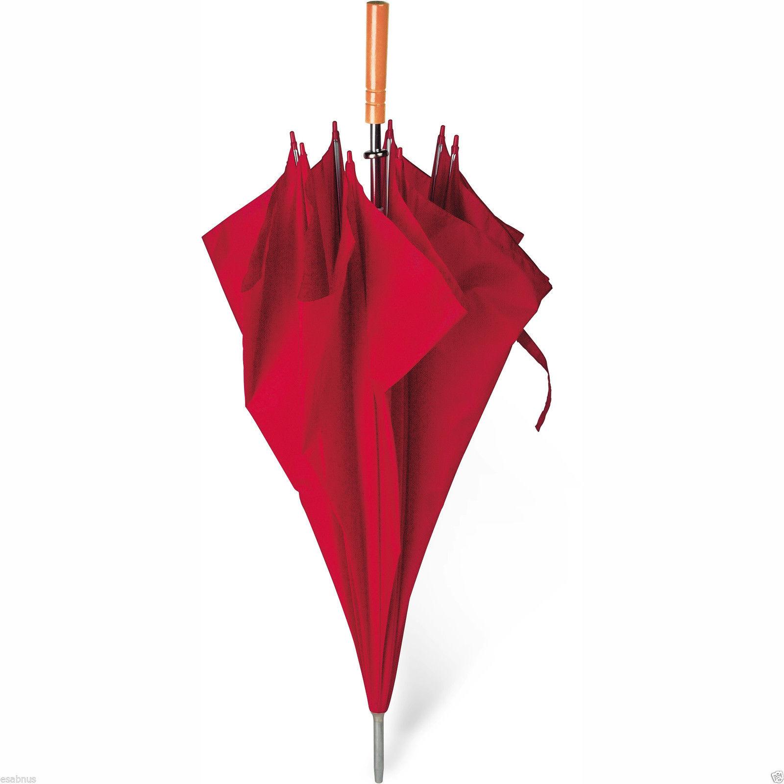 apertura-manual-Golf-Paraguas-132cm-132cm-Madera-Agarre-190t-poliester