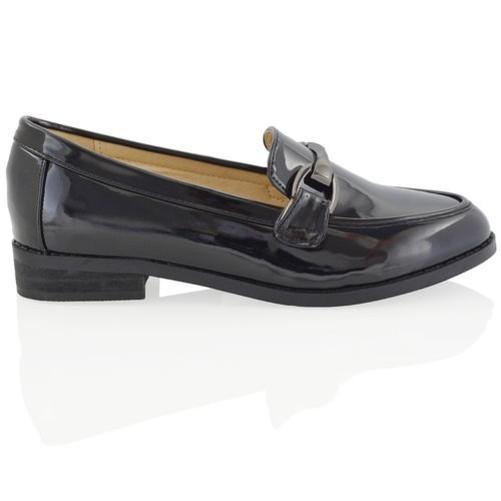 Nuevo Mujer Sin Cordones Mocasines Planos Zapatillas