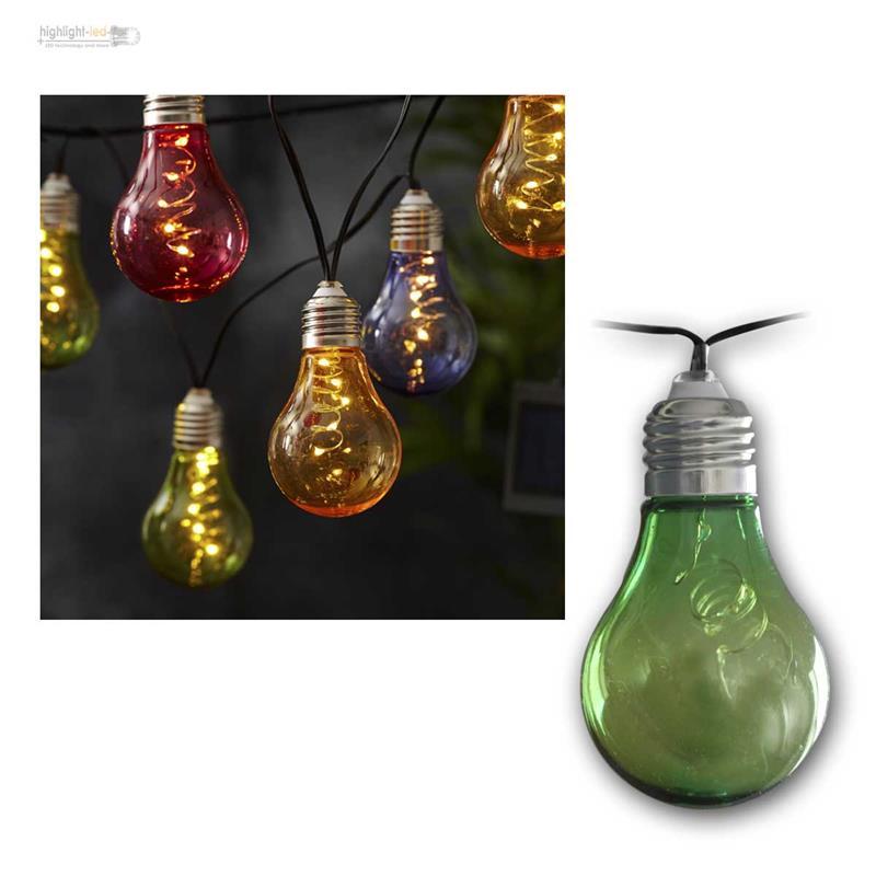 led guirlande lumineuse solaire ampoules pour ext rieur int rieur 50 leds ebay. Black Bedroom Furniture Sets. Home Design Ideas