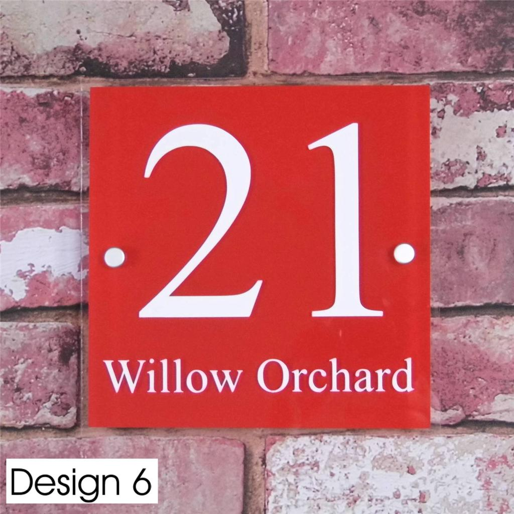 moderne signe num ro de porte maison rue adresse plaque. Black Bedroom Furniture Sets. Home Design Ideas