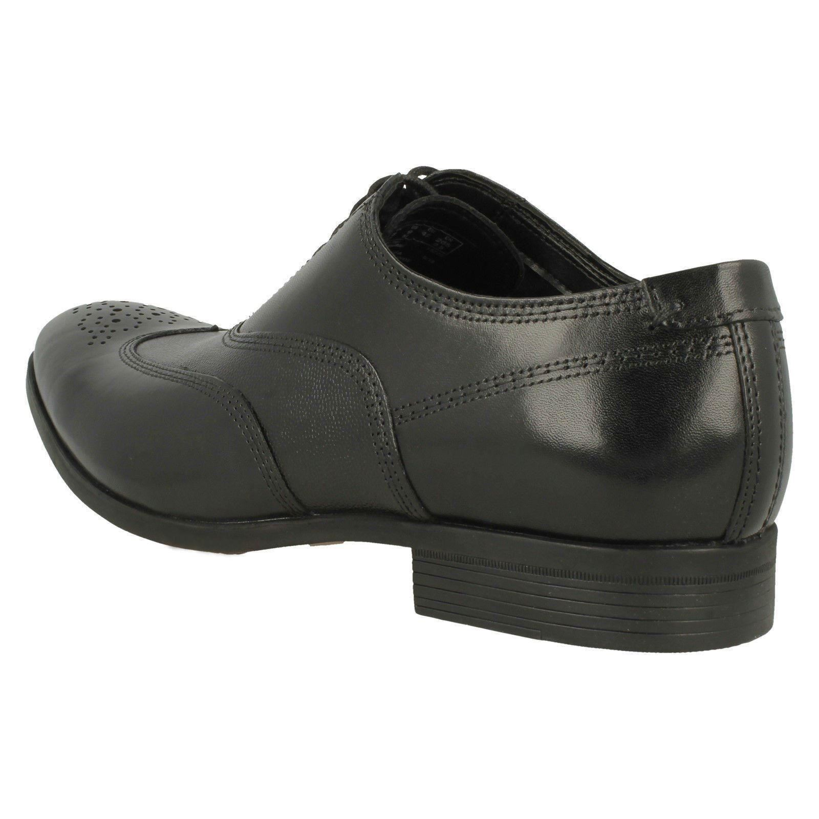Hombre Clarks Formal Zapatos Oxford con Cordones Cordones Cordones Gilmore Wing 0d2a7d