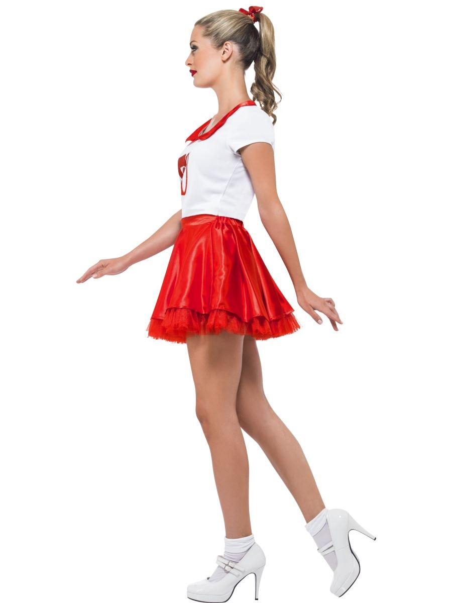 mujer-grease-Sandy-Cheerleader-ANOS-50-Disfraz-para-adulto-ROCK-amp-Roll-Disfraz