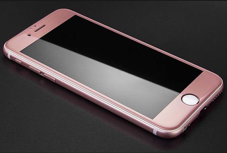 Couverture-Complet-Verre-pour-Apple-IPHONE-8-4-7-034-8-Plus-5-5-034-Affichage-Film miniature 21