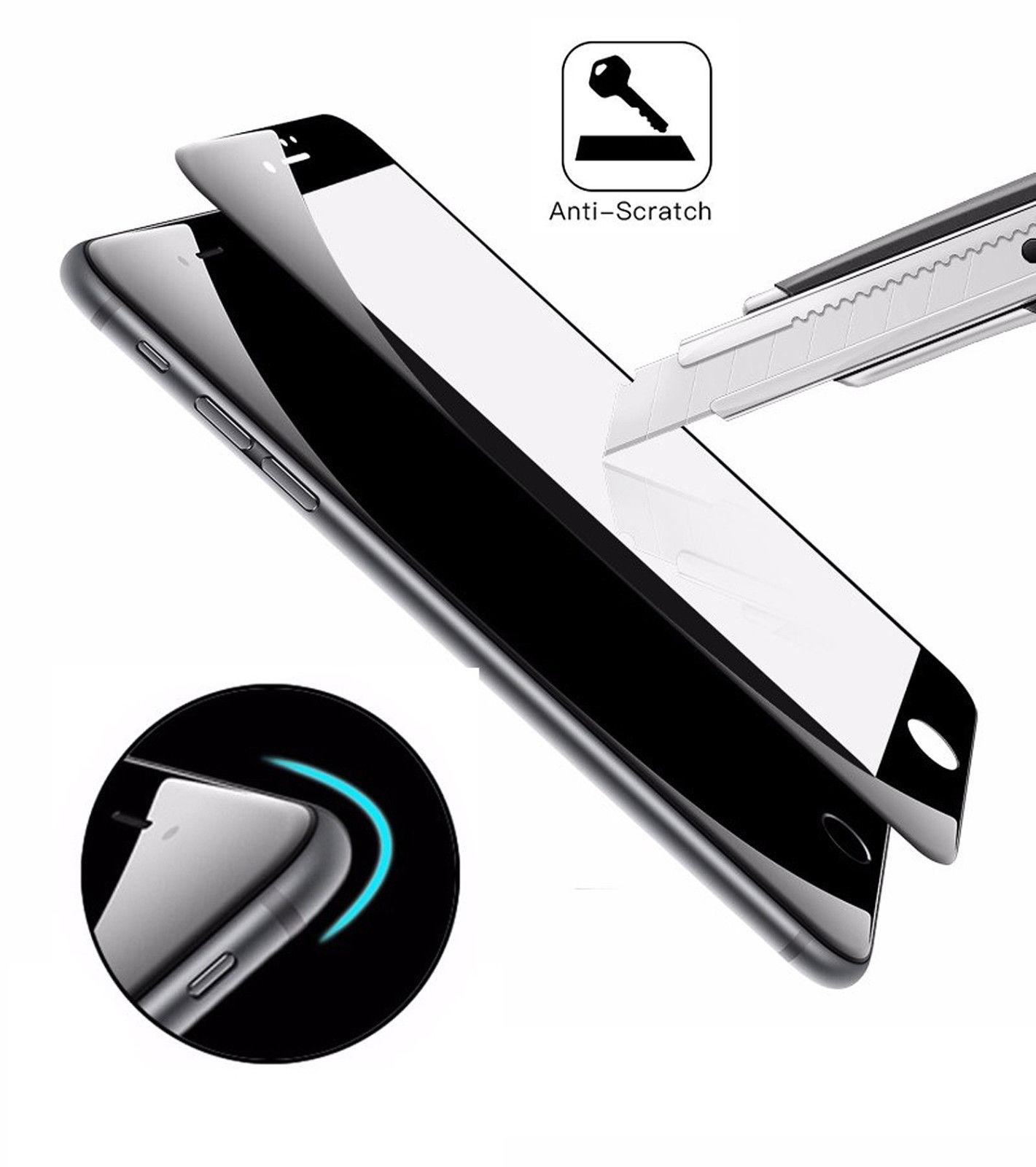Couverture-Complet-Verre-pour-Apple-IPHONE-8-4-7-034-8-Plus-5-5-034-Affichage-Film miniature 34