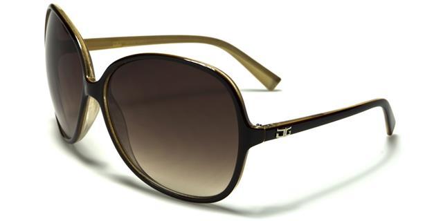NEU CG Designer Sonnenbrille Damen Retro schwarz groß Vintage Große 5bG56YX