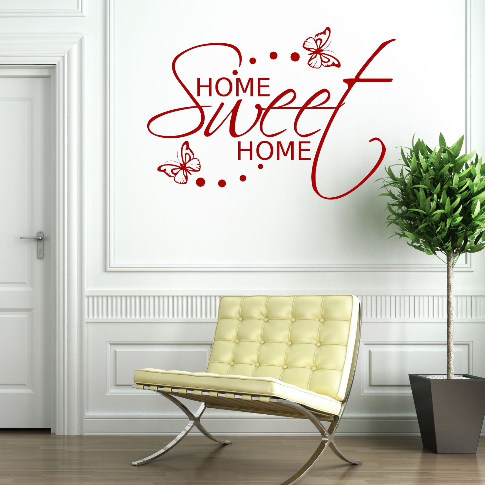 Superior Home Sweet Home Wall Sticker Art Room Gift  Part 13