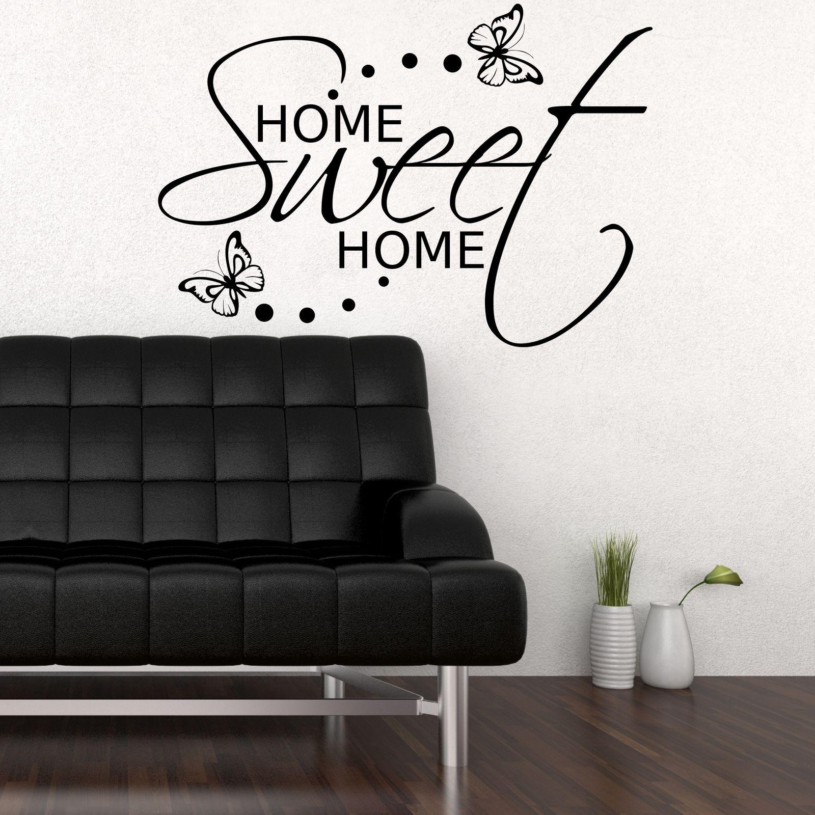 Home Sweet Home Sticker 55cm x 60cm