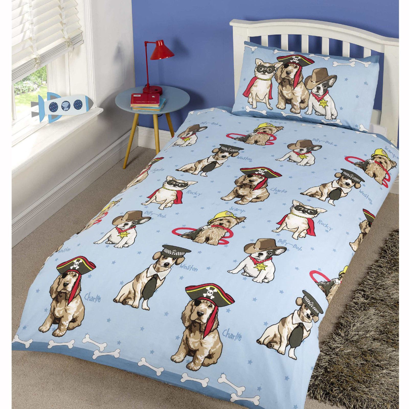 filles housse couette simple ensembles literie licorne fleur cheval c ur ebay. Black Bedroom Furniture Sets. Home Design Ideas