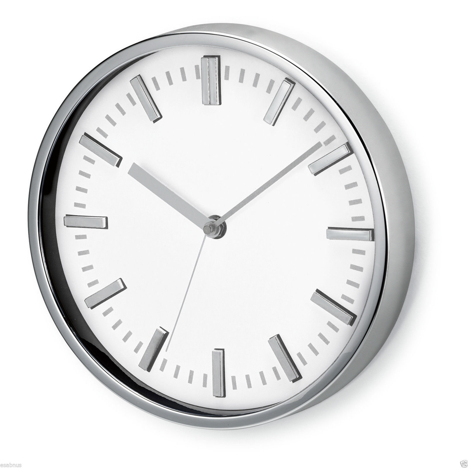 Wall Clock Large Analogue Modern Round Home