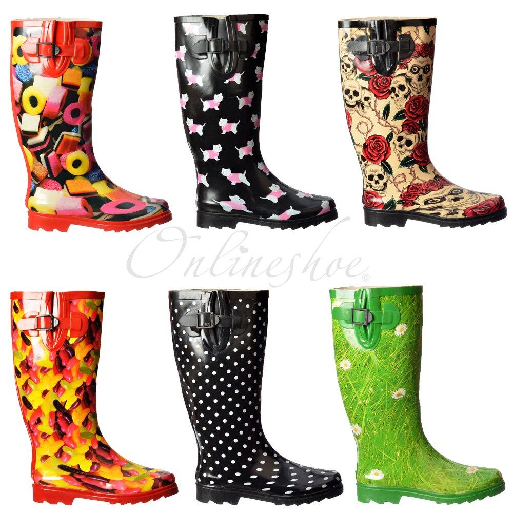 bottes de pluie femme plat