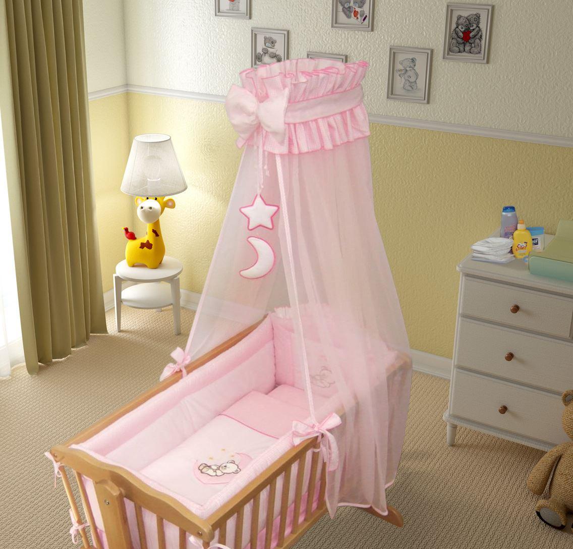 9 Piece Wiege Baby Bettwäsche Set 90 X 40 Cm Fassungen Schwingend