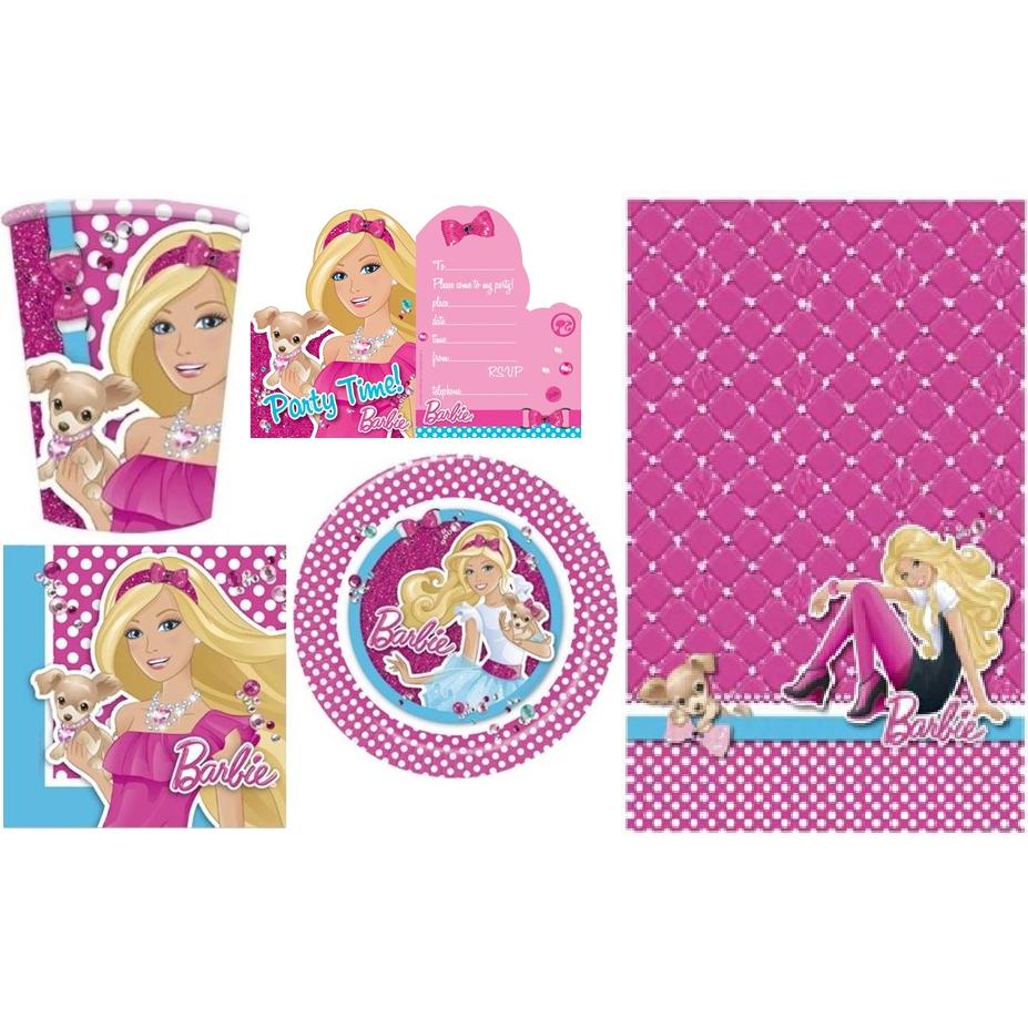 Barbie accessori festa per ragazze bambini compleanno for Accessori per barbie