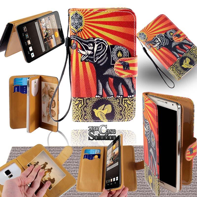 VARIE-HUAWEI-Smartphone-PELLE-SUPPORTO-FLIP-PORTAFOGLIO-Scheda-CUSTODIA-COVER