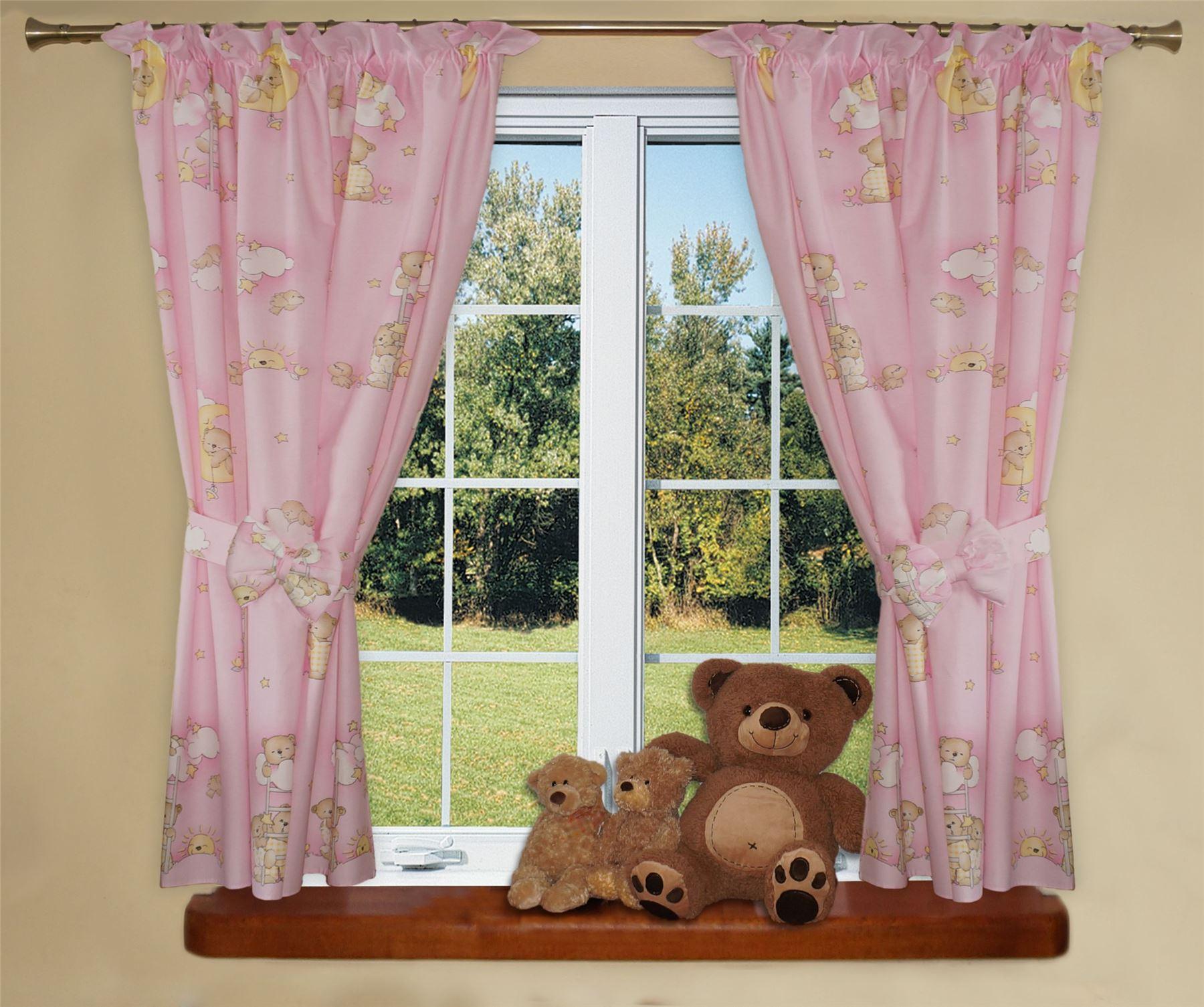 luxuri s baby zimmer fenster vorh nge in passend muster. Black Bedroom Furniture Sets. Home Design Ideas