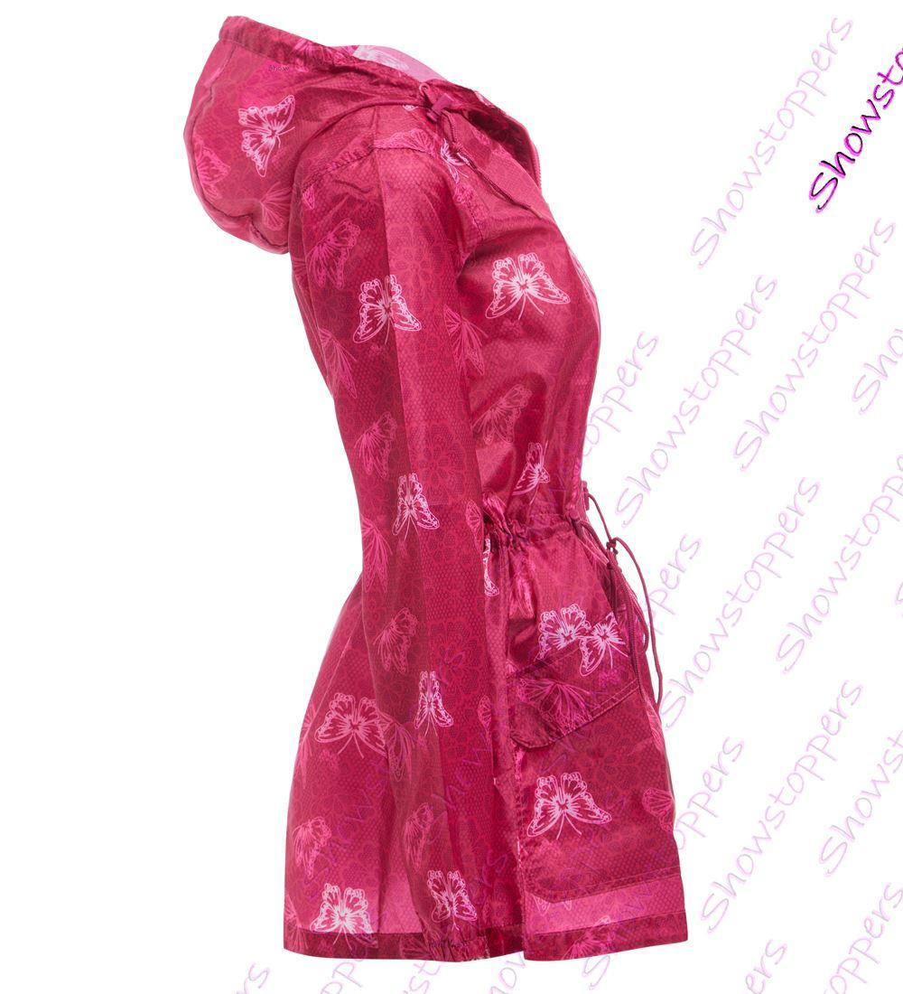 Size-8-22-Mujer-Chubasquero-Resistente-Al-Agua-Impermeable
