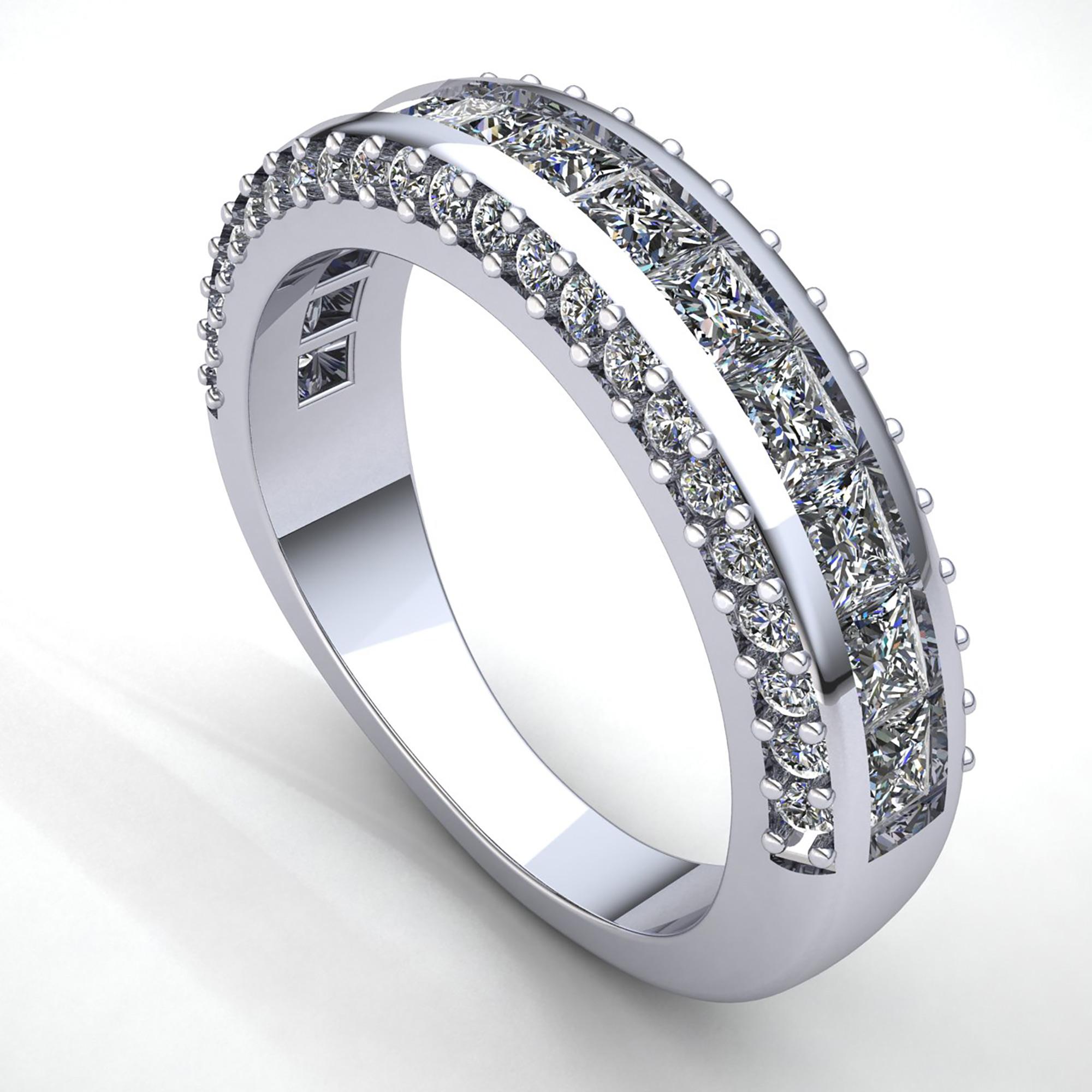 Original-2ct-Diamante-Talla-Princesa-Mujer-Senora-Elegante-Aniversario-Alianza