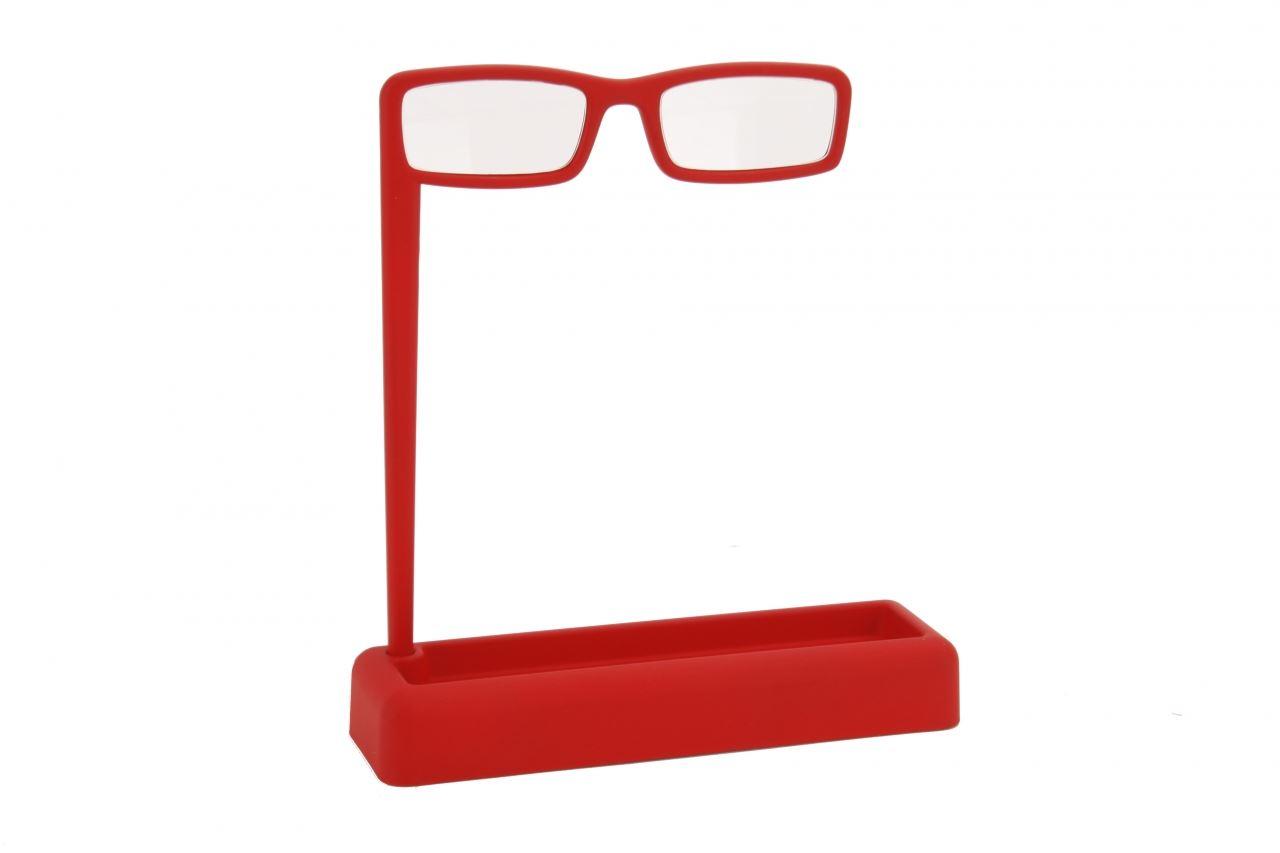 Lorgnette con organizador de escritorio bandeja 4x for Escritorio de vidrio
