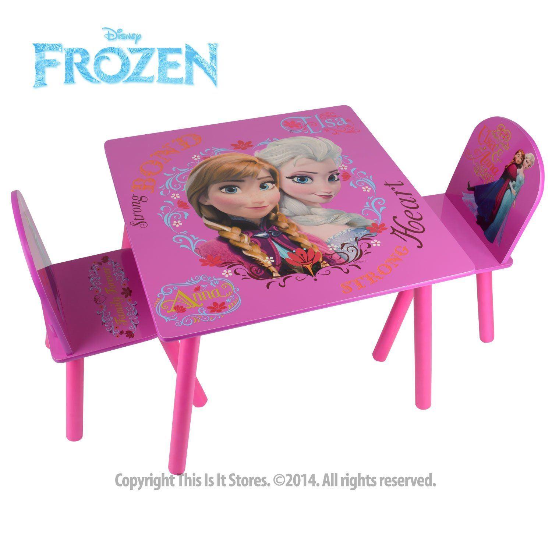 Disney prinzessin eisk nigin m bel tisch und st hle set - Eiskonigin mobel ...