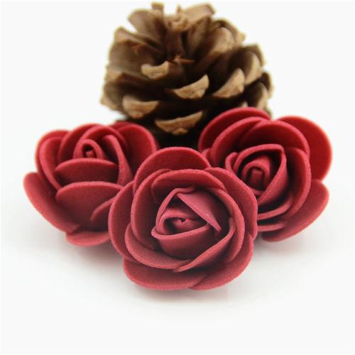 Mini-Espuma-3cm-rosas-Boda-Manualidades-Flor-Decoracion-Fiesta-favour-10