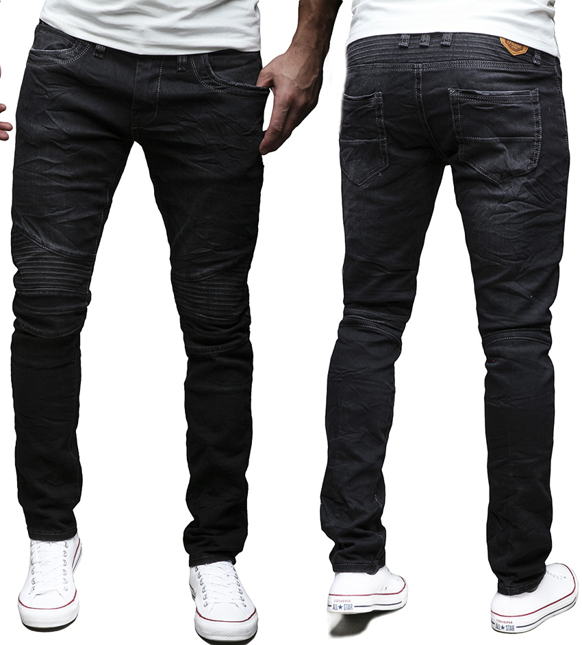 merish pantalon jeans pour homme slim fit chino biker tendance neuf j1166 ebay. Black Bedroom Furniture Sets. Home Design Ideas
