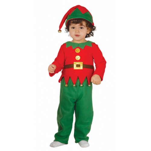 Image is loading Baby-amp-Toddler-ELF-SUIT-Christmas-Kids-Fancy- - Baby &Toddler ELF SUIT Christmas Kids Fancy Dress Costume EBay