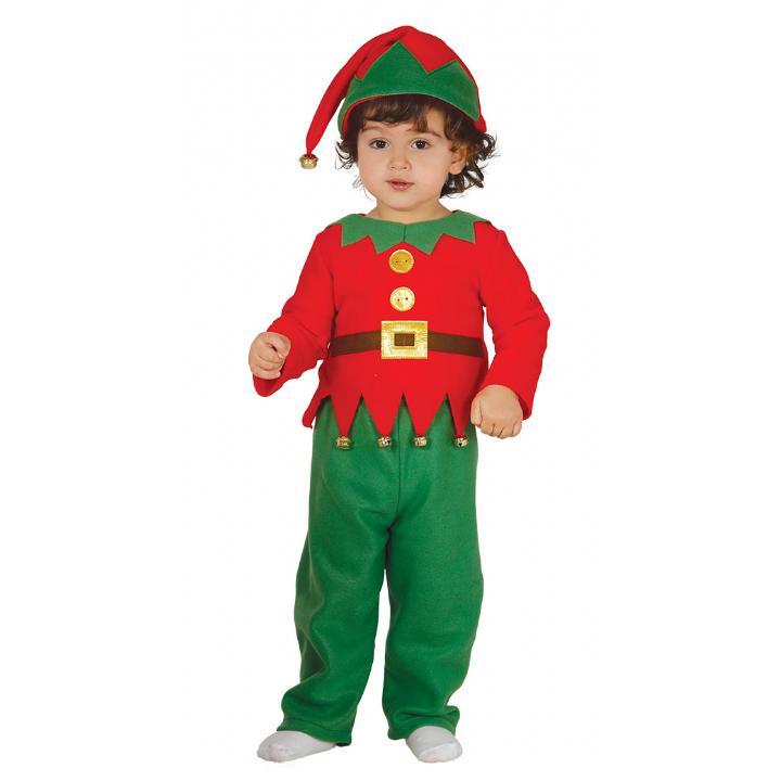 Bebe-amp-toddler-Elfo-Traje-Navidad-Ninos-Disfraces
