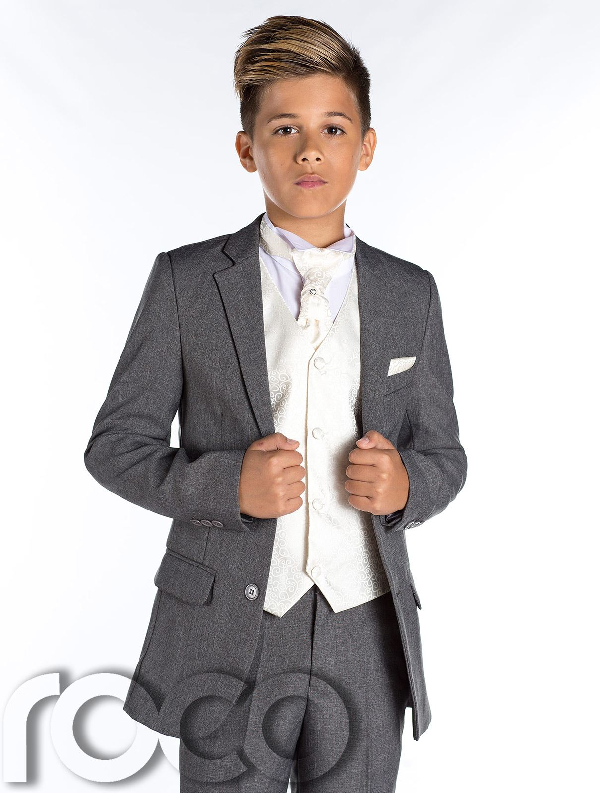 boys wedding suit page boy suit boys grey suit grey slim fit suit rh ebay com boysenstr westerland boysenstr westerland