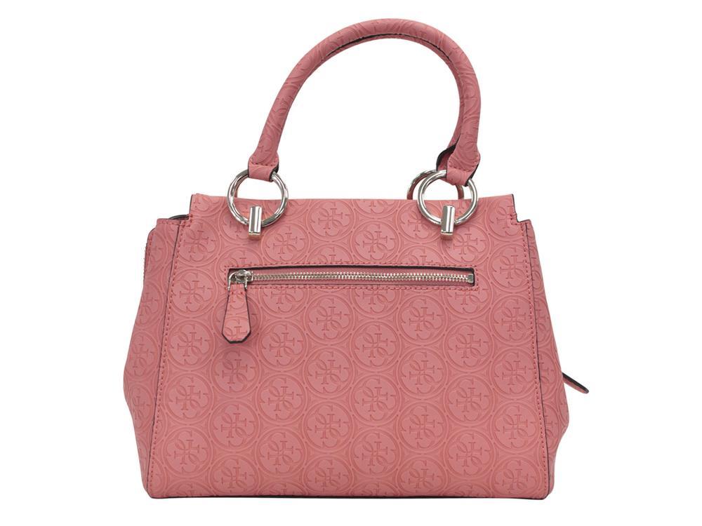 6f68e2599540 Guess Women s Heritage Pop Girlfriend Satchel Handbag