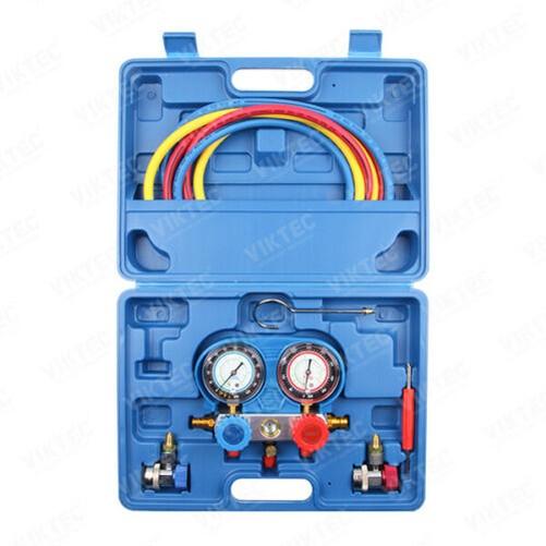 Klimaanlage AC Diagnose Ein C Krümmer Anzeige Werkzeug Set Kühlung