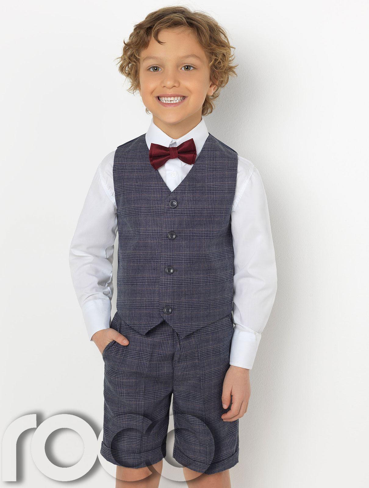 Boys Waistcoat Suit Boys Check Suits Boys Suits Boys Short Suit
