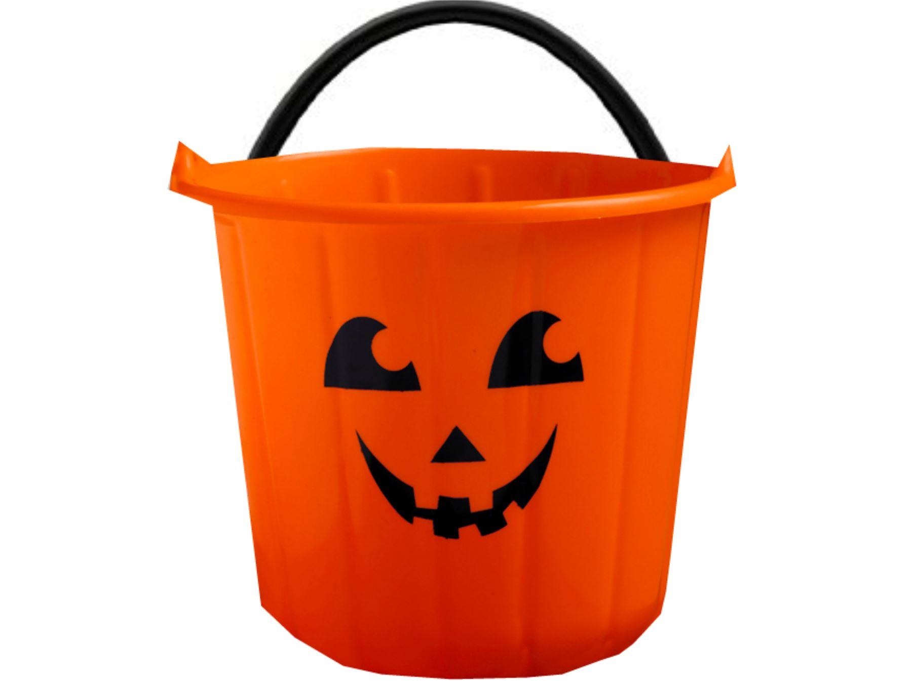 Halloween Süßes oder Saures kürbis-gesicht Eimer Süßigkeiten Tasche ...
