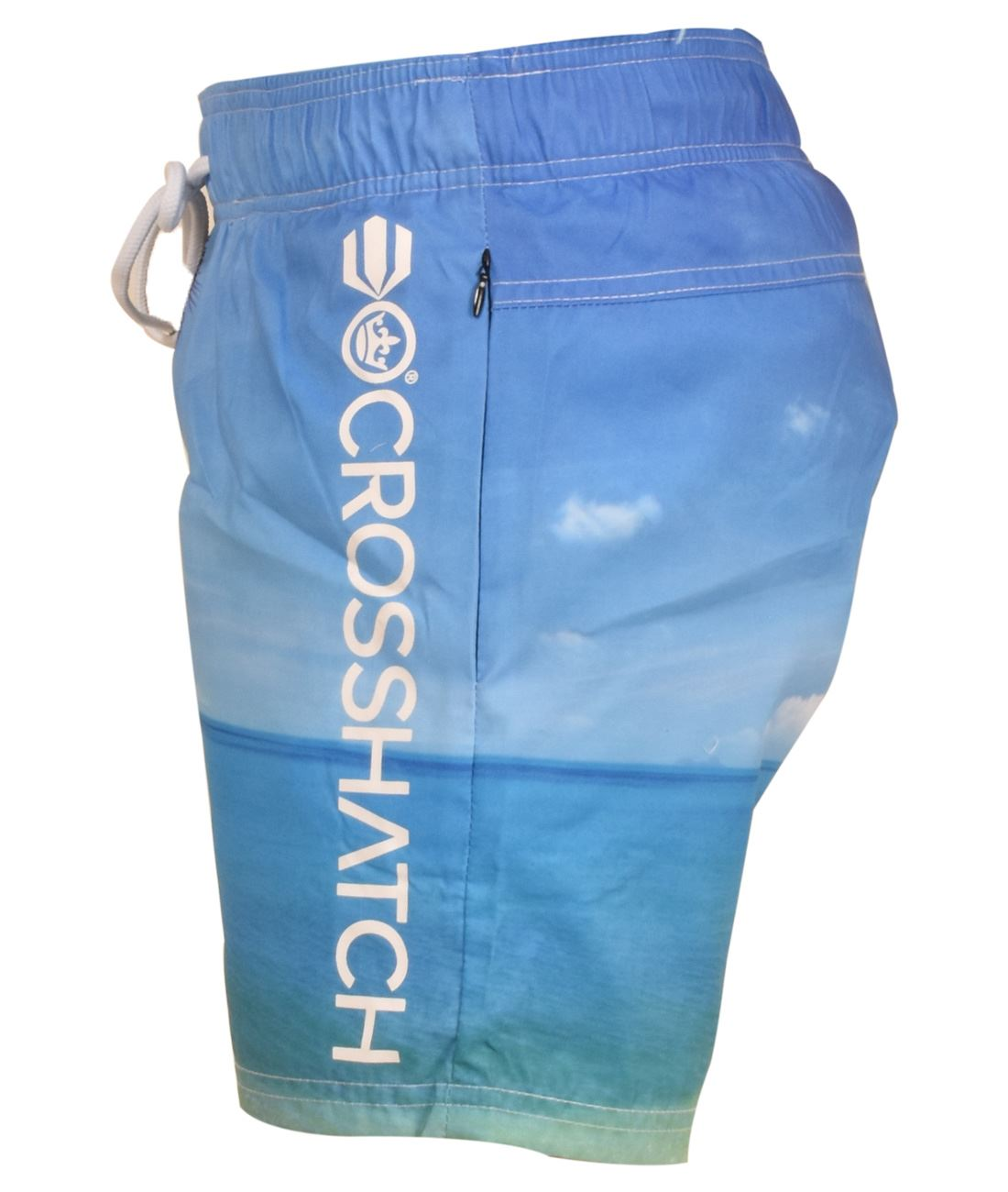 Crosshatch-Hawaiin-Sun-Set-Mens-Holiday-Swim-Shorts-Summer-Beach-Trunks-S-2XL thumbnail 4
