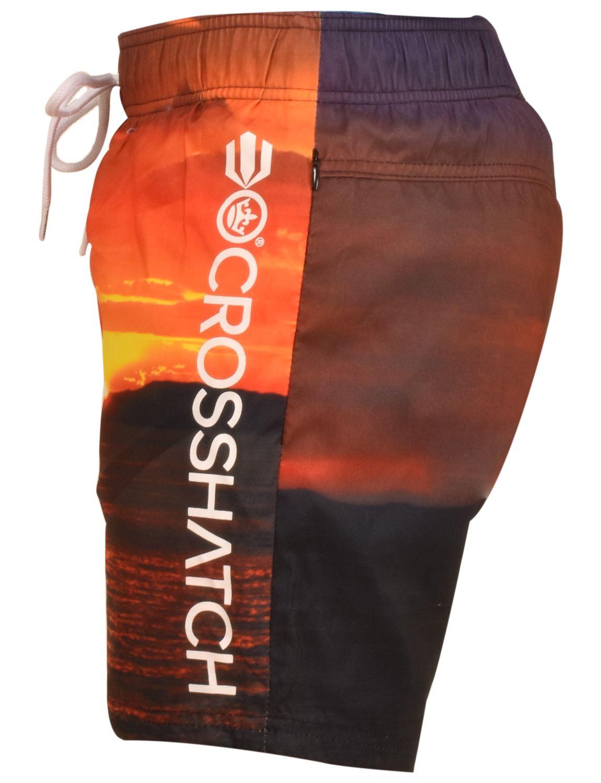 Crosshatch-Hawaiin-Sun-Set-Mens-Holiday-Swim-Shorts-Summer-Beach-Trunks-S-2XL thumbnail 10