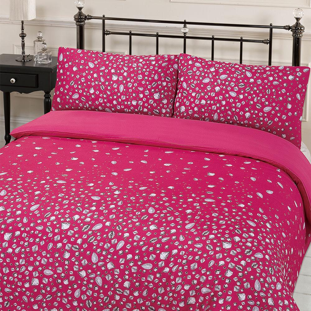 Kingsize Stepp Bettdecke Bettwäsche Bed in A Bag Gold Einzelbett Doppelbett