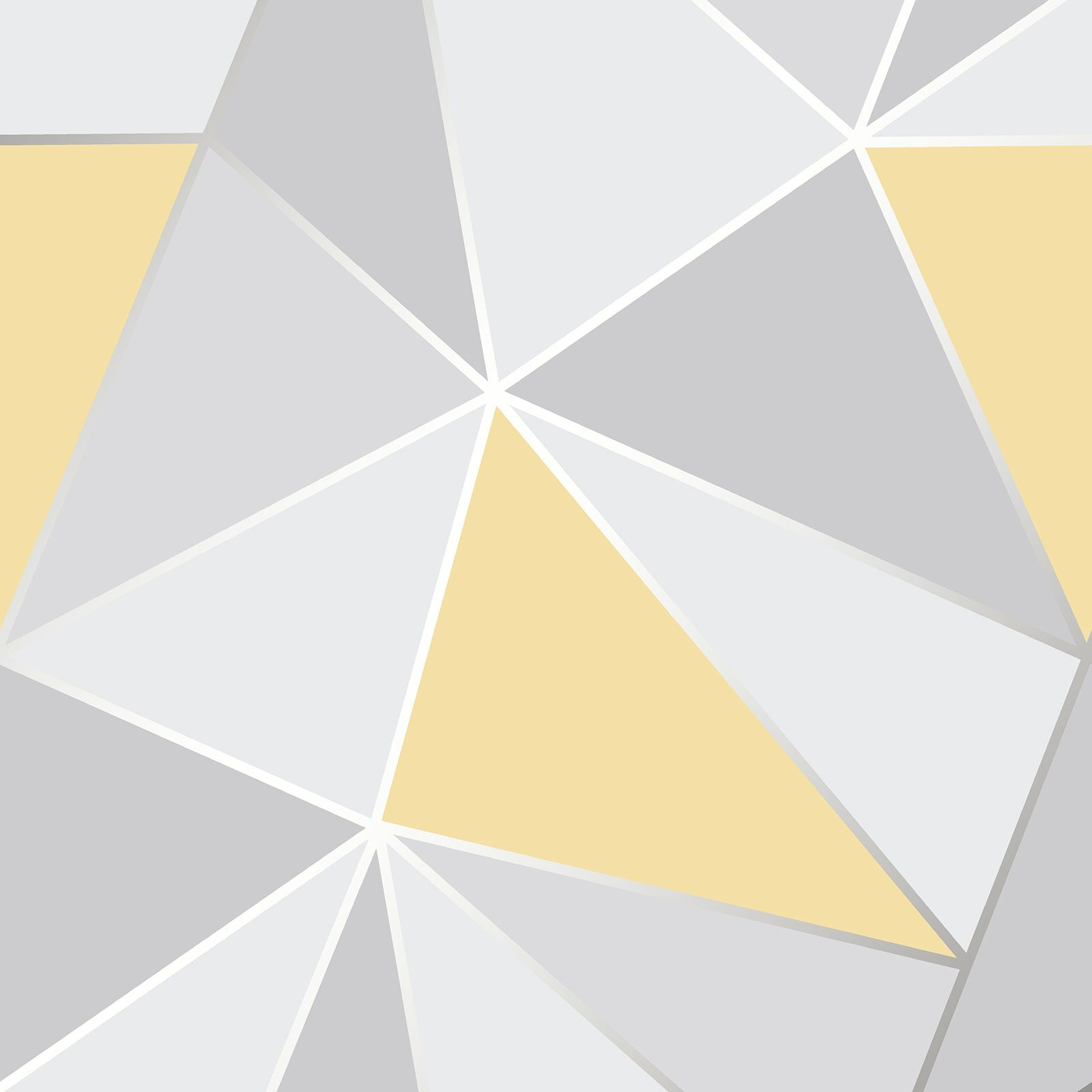 GEOMETRIC WALLPAPER MODERN DECOR TRIANGLES TRELLIS SILVER ROSE GOLD ...