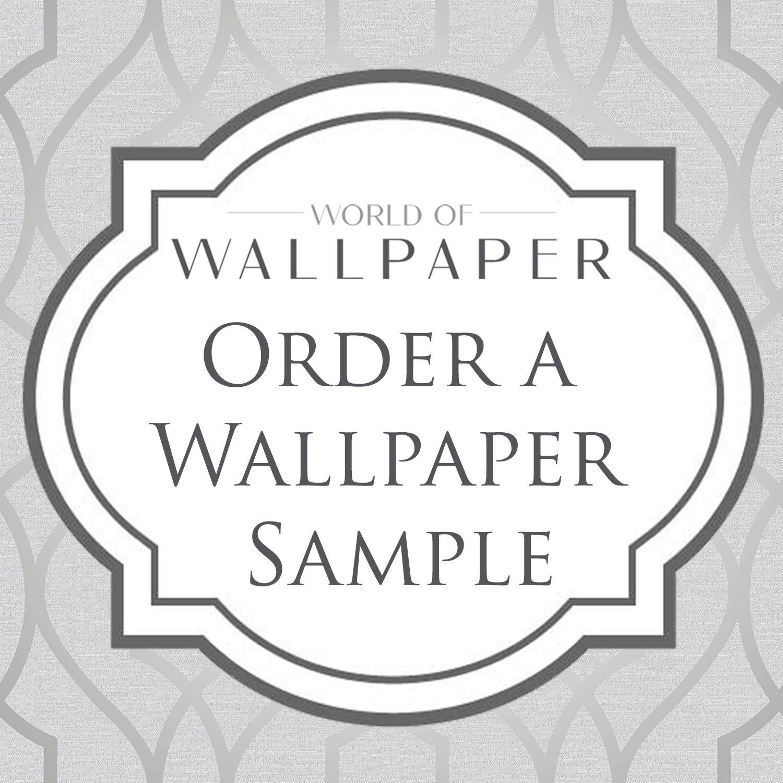 Geometric Wallpaper Modern Decor Triangles Trellis Silver