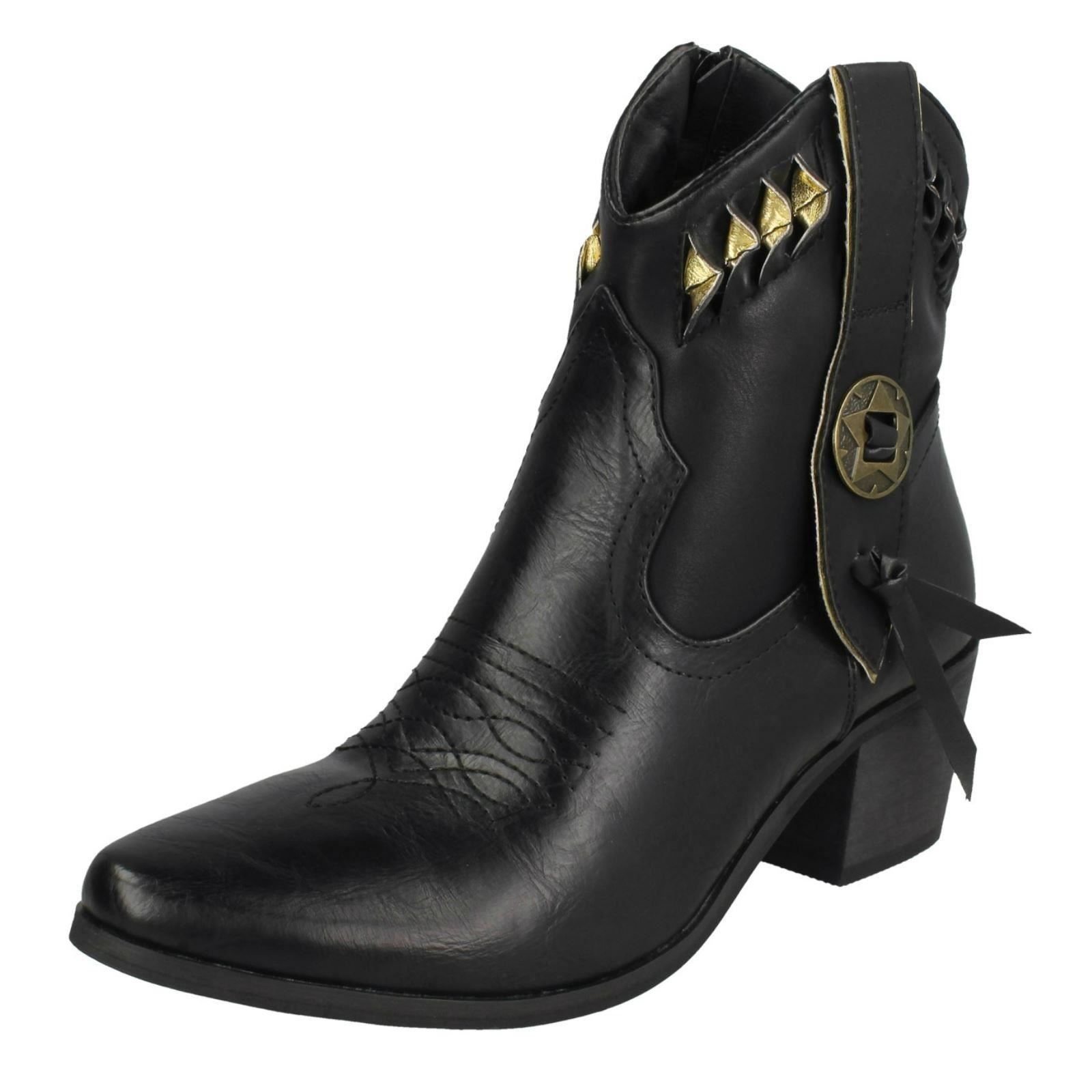 Ladies Ladies Ladies Down To Earth - Cowboy Boots bd7967
