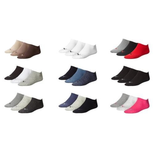 PUMA SPORT LOISIR Invisible chaussettes tennis 3 6 9 12 paires 35/38 - 47/49