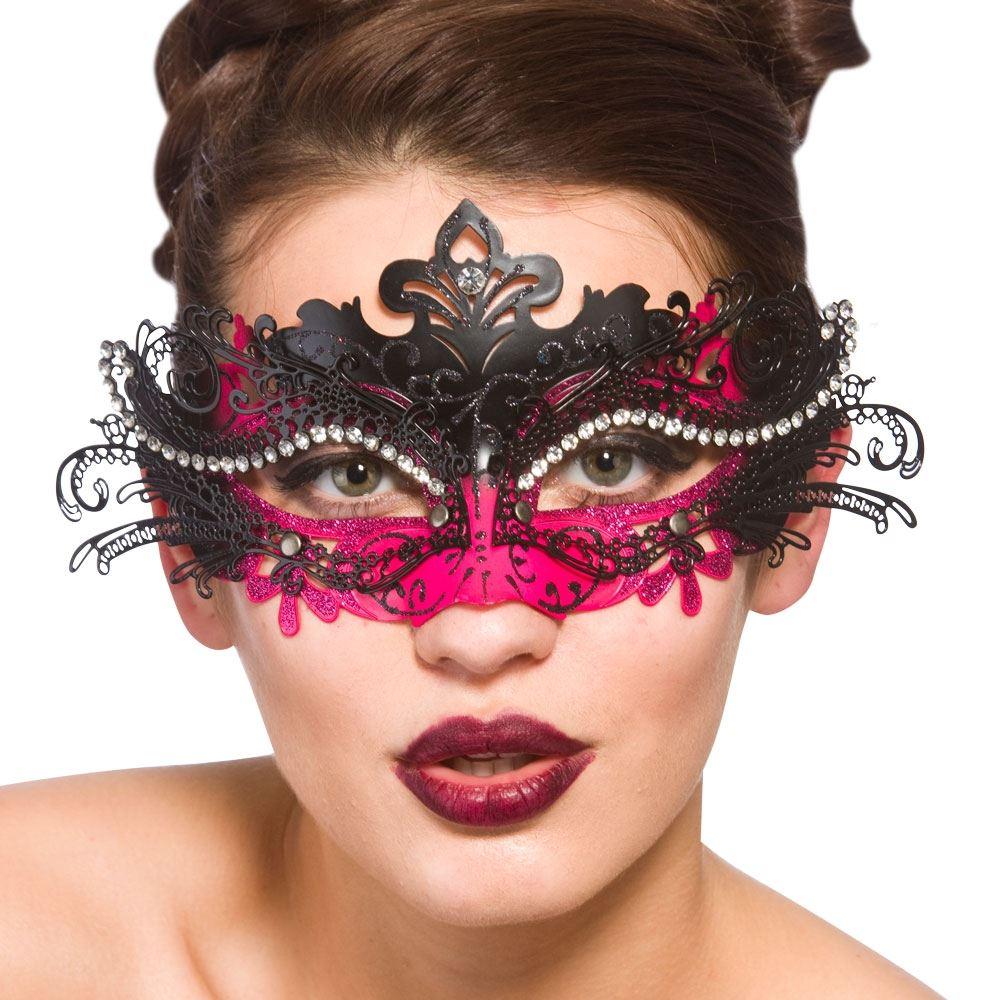femmes puccini de luxe bal masqu accessoire d guisement masque yeux ebay. Black Bedroom Furniture Sets. Home Design Ideas