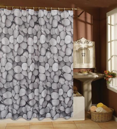 Variados cortinas de ba o m ltiple listado poli ster con for Fabrica de ganchos para cortinas de bano