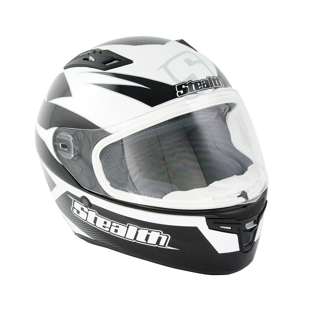 Gris-Motocicleta-Completo-HD117-Carbono-Visera-Interior-Road-Casco